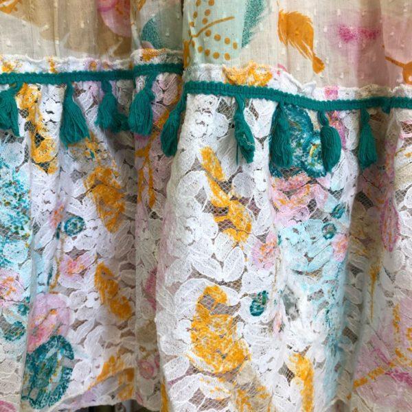 Gipsy kleid details spitze