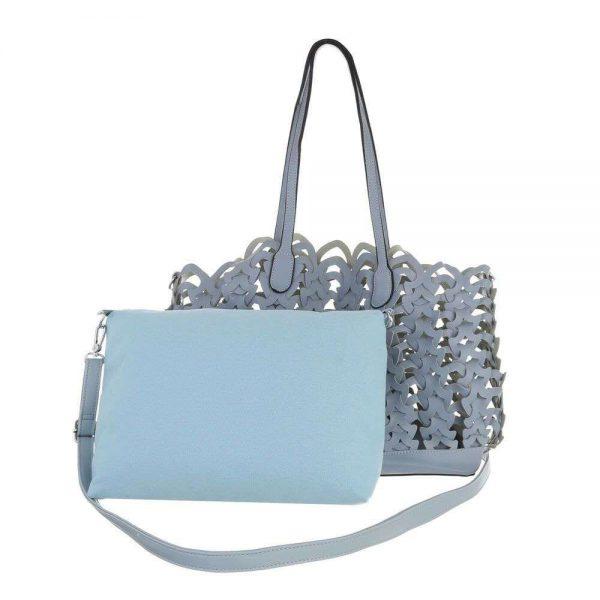 Tasche blau mit Innentasche