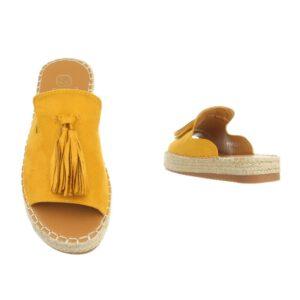 Schuhe gelb