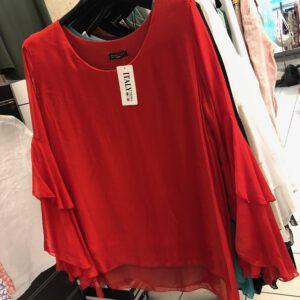 wunderschöne Bluse aus Seide/Viscose in 6 Farben